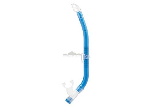 Cressi Unisex-Youth Top Snorkel Kleiner schnorchel, Blau, Einheitsgröße
