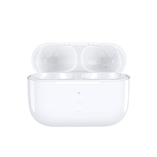 BIEZIAYA Kabelloses Ladecase Kompatibel mit Air Pods Pro 1 und 2, Wireless Charger Case Ersatz Ladecase mit Bluetooth Synchronisierungstaste,für drahtlose Laden Fall Ersatz(Weiß)