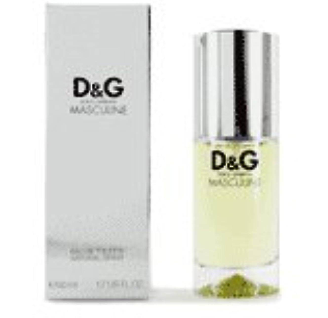 望まない気怠いスペクトラムD & G Masculine (D&G マスキュライン) 1.7 oz (50ml) EDT Spray for Men