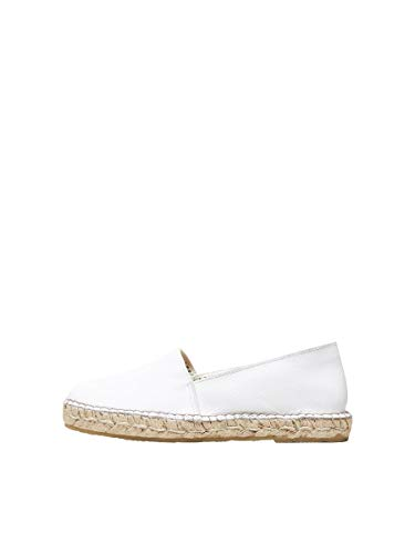 SELECTED FEMME Female Espadrilles Leder 40White