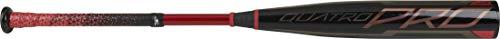 Rawlings 2021 Quatro Pro BBCOR Baseball Bat Series, 33 inch (-3), Black/red (BB1Q3-33)