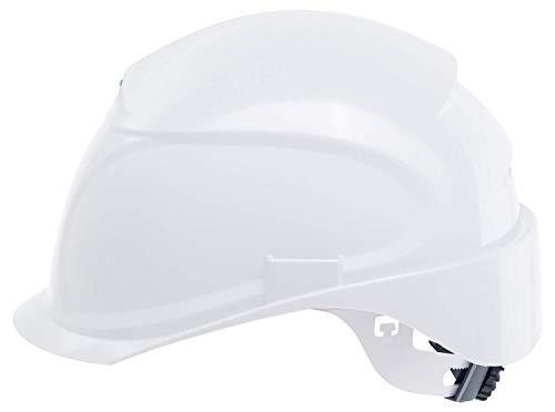 Uvex Airwing B-S-WR Schutzhelm - Belüfteter Arbeitshelm für die Baustelle - Weiß Weiß