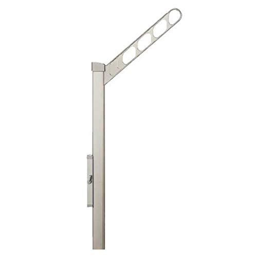 ナスタ(NASTA) 屋外物干 KS-DA456ASPN-ST 上下可動タイプ ステンカラー 本体: 奥行43cm 2入