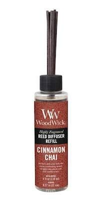 WoodWick Cinnamon CHAI 4 oz Refill for Reed or Spill Proof Diffusers