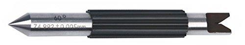 INSIZE 7384-T111 - Puntas de medición para rosca de micrometro externa (ángulo de 60 grados, 2 mm / 2,5 mm)