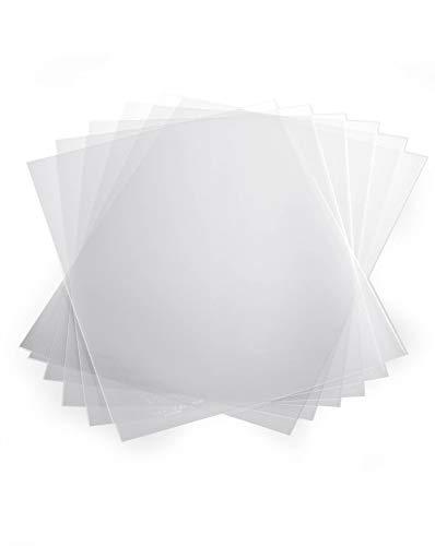 Durable 292619 Klemmschienenhülle A4 aus PP, für circa 1-100 Blatt, 10 Stück, transparent