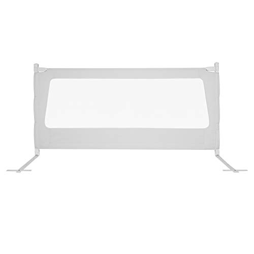 Best Prices! HENGYUS Bed Rail for Toddlers Vertical Lift and Drop Double Safety Lock Polyester Encry...