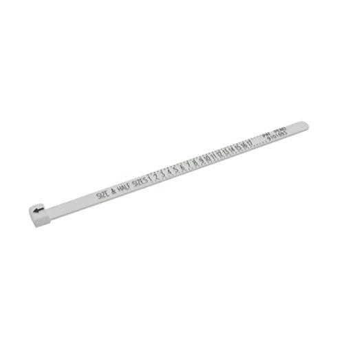 SONGAI Tragbare Größe UK US Ring Sizer Measure Finger Lehre for Ehering Band Original Tester Messwerkzeug