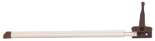 Brunner 208/014-L - Deflettore Automatico Sinistro per Finestra da Camper, in Alluminio, con Chiusura, 280 mm