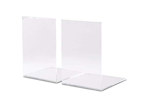 Maul 3513905 - Sujetalibros (2 unidades, 3.5 mm), transparente
