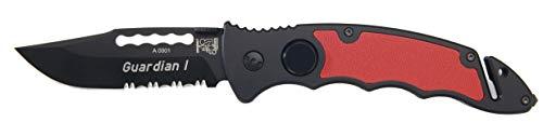 Eickhorn Unisex– Erwachsene Rettungsmesser|Guardian I | Klingenlänge: 9 cm, Einhand, normal