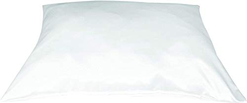 Betty Dain Satin Pillowcase with Zipper, King Size, White