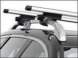 Cam 2801 Compocar Logico  - Barre in Acciaio Portatutto, Colore: Nero, 120 cm