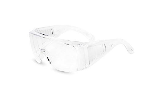 Atope Pegaso 150.01-Gafas Proteccion Gama Modelo Visitor Lente PC Incolora, Transparente, L ⭐