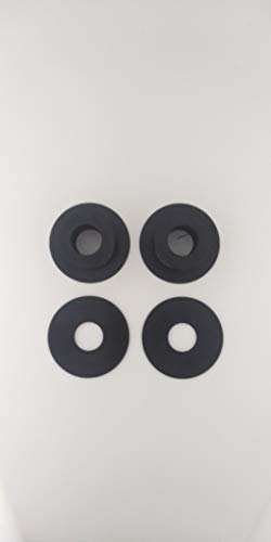 Olympic Plate to Standard Bar Adapters (Black, 1')