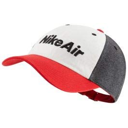 NIKE Y Nk H86 Cap Air Gorra, Unisex niños, University Red/White/Black Heather/(Black) (Heather), MISC