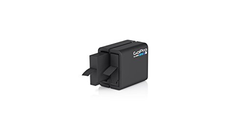 GoPro Dual Battery Charger + Battery (for Hero4 Black/Hero4 Silver) (GoPro Official Accessory)