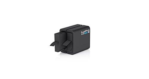 GoPro AHBBP-401 - Cargador de batería Dual y batería para GoPro Hero4, Color Negro