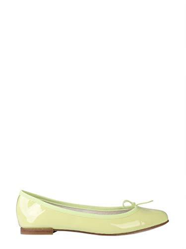 Repetto Luxury Fashion Damen V086V1226 Gelb Leder Ballerinas | Jahreszeit Outlet