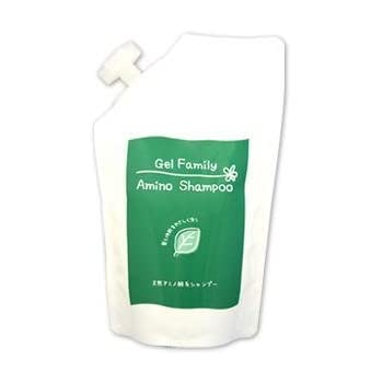Pinatural(パイナチュラル) ゲルファミリーアミノシャンプーN 詰替用パック入り 500ml