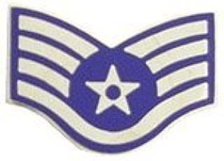 US Air Force E-5 Staff Sergeant Lapel Pin