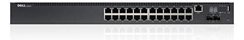 Dell Networking N2024 L2 24x 1GbE + 2x 10GbE SFP+ Fixed Ports Stacking IO to PSU Airflow AC Switch (Refurbished)
