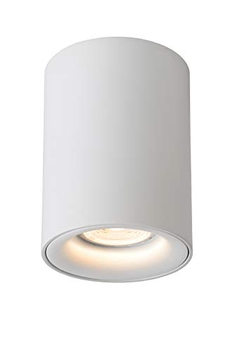 Lucide BENTOO-LED - Spot Plafond - Ø 8 cm - LED Dim. - GU10 - 1x4,5W 3000K - Blanc