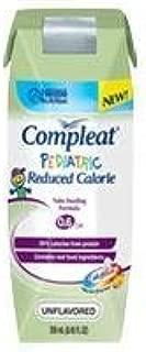Compleat Pediatric Reduced Calorie, Unflavored Part No. 4390038074 Qty Per Case