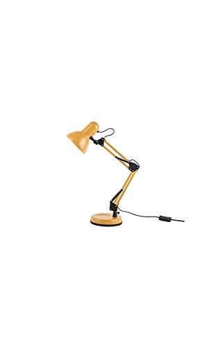 Present time - Lampe à poser fer jaune mate HOBBY