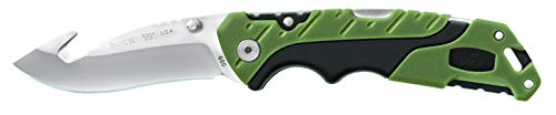 """Buck Knives 660 Folding Pursuit Large Folding Hunting Knife with Guthook, 3-5/8"""" 420HC Steel Blade"""