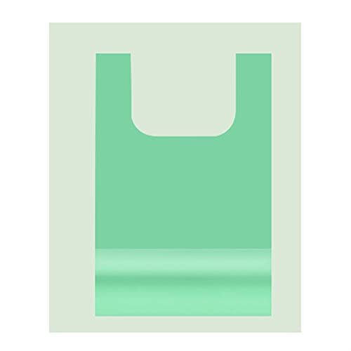 XDQ Mango de 5 galones pequeños Bolsas de Basura de plástico Azules, Bolsas de Basura Fuertes portátiles, Bolsas de Basura duraderas, para la Cocina de Dormitorio 40 Rollos (300 Cuentas)