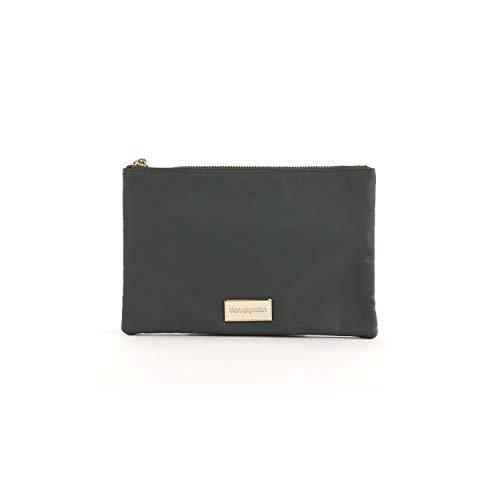 Don algodón Urban, Bolso con correa de mano Mujeres, Verde Caqui, 24x16 cm