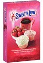 Sweet N Low, Zero Calorie Sweetener, Sugar Substitute, 8 oz. Box, 3 Pack
