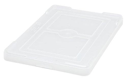 Quantum Storage Systems COV91000CL Cover for Dividable Grid Container DG91035 and DG91050 Clear 10-Pack