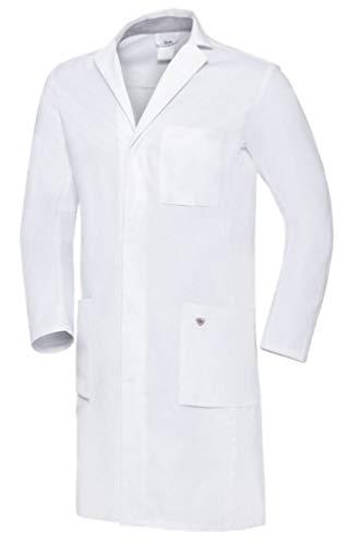 BP 1753-130-0021-54n Arztkittel für Männer, Langarm, Arm-Lift-System, 205,00 g/m² Reine Baumwolle, weiß,54n