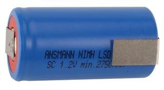 Ansmann 3000mAh maxE Níquel-Metal hidruro (NiMH) - Pilas (Níquel-Metal hidruro (NiMH), 1,2 V, 1 Pieza(s), 3000 mAh, Multicolor, 22,5 mm)