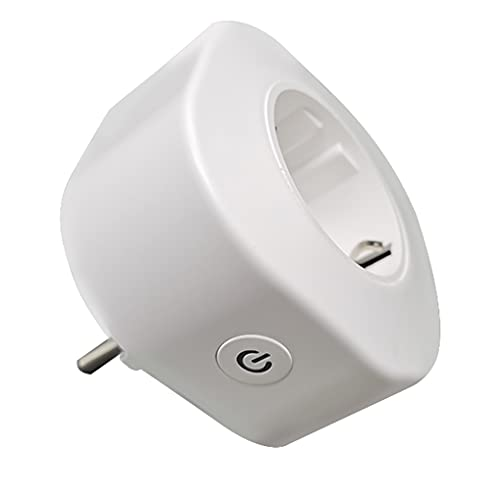Allayu Tuya WiFi Socket Remoto inalámbrico de 2,4 GHz de Potencia de Control del zócalo 16A Control de Voz Temporizador de Salida, Enchufe de la UE