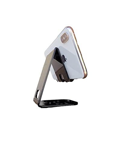 Suporte Splin de mesa universal para smartphones Video Call Live em Acrílico (preto)