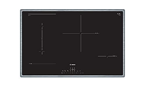 Bosch PVS845FB5E piano cottura Incasso A induzione Nero, Acciaio inossidabile