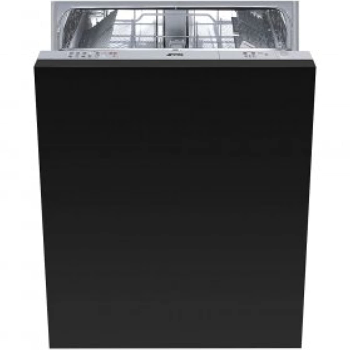 "Smeg 24"" Fully integrated Dishwasher With 13 Place Settings 5 Wash Cycles, Half-Flexible Load, Panel Ready, STU8249"