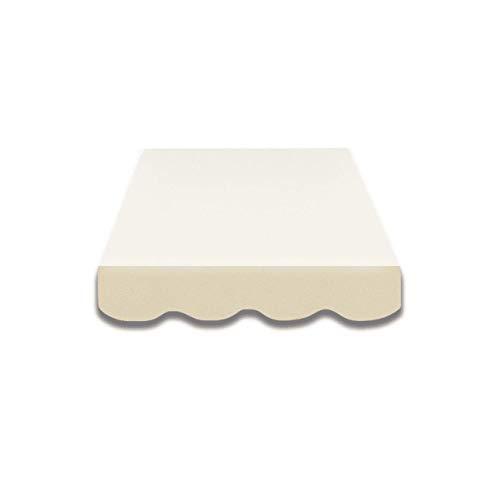 Mantovana per tende da sole, già cucita, tessuto per tende da sole, misure e colori assortiti (4 m, SPD001)