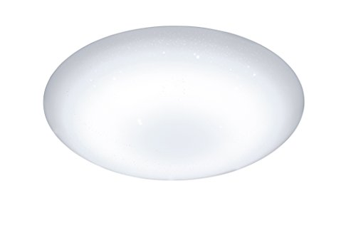 ACTION by WOFI 955501066000 A+ Deckenleuchte, Plastik, 28 W, Integriert, weiß, 45 x 45 x 9 cm