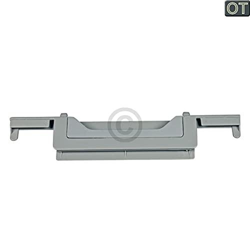 Fettfiltergittergriff kompatibel mit AEG 5025308700/6 grau für Dunstabzugshaube