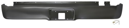 IPCW CWRS-04F Ford F-150 Steel Roll Pan with License Plate Hole and Light