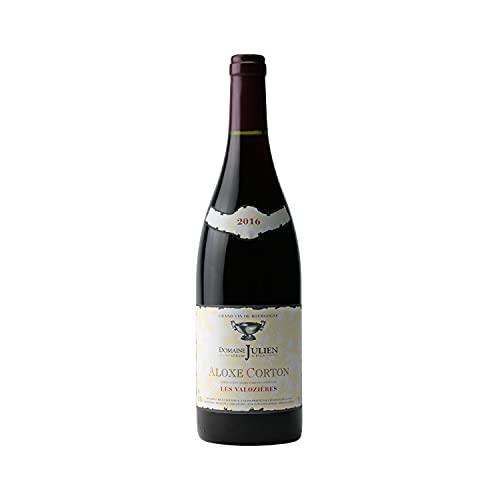 Aloxe-Corton 1er Cru Les Valozières Rouge 2016 - Domaine Gérard Julien - Vin AOC Rouge de Bourgogne - 75cl - Cépage Pinot Noir