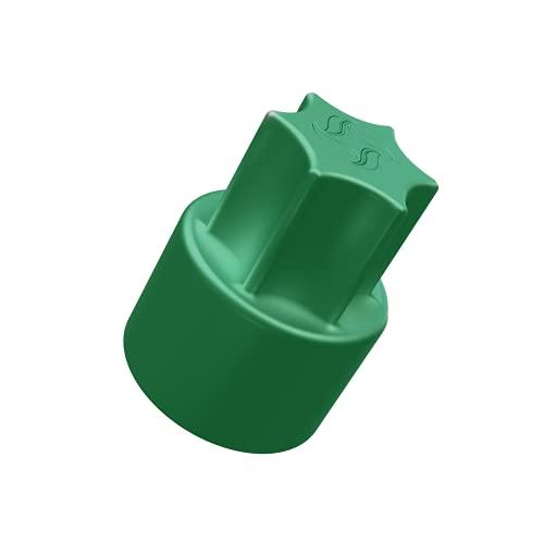 TeigTwister®   Teiglöser aus Kunststoff   Messerdrehhilfe passend für Thermomix TM6/TM5   Farbe: grün   Made in Germany