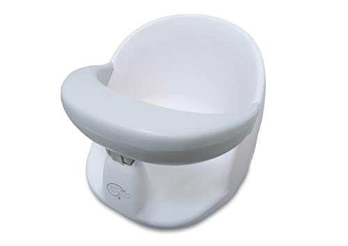 BabyDam Baby Orbital Swivel Bath Seat - White/Grey