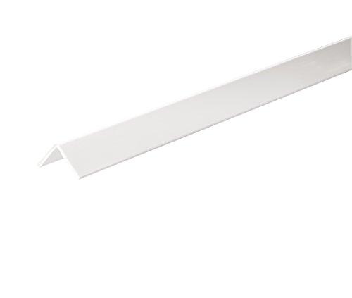 Profilweb WPV0007 Profile cornière PVC 40 x 40 x 200 mm Blanc