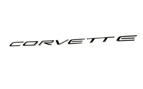 Southern Car Parts 1997-2004 C5 Corvette Domed Rear Bumper Lettering Letters Decal Kit 3D -Black