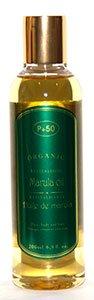 L'Huile de Marula – 200 ml – 90% Bio – 100% naturel – Huile pour cheveux – Huile pour le corps – Huile de peau – Cheveux Secs – par P + 50 – sans parfum